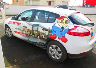 Autocollants voiture publicité entreprise