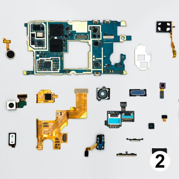 Maquette d'autocollants informatique