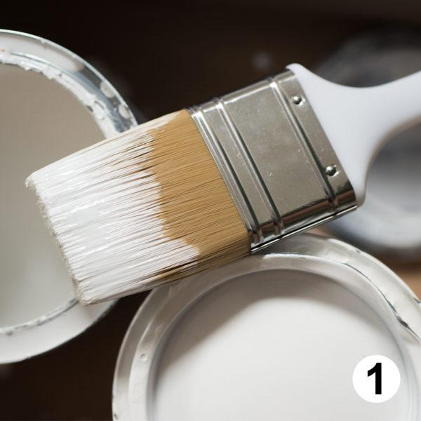 Maquette d'autocollants peintre